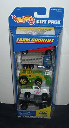 ホットウィール マテル ミニカー ホットウイール 17455 【送料無料】Hot Wheels Farm Country - 5 Vehicle Gift Pack 1996ホットウィール マテル ミニカー ホットウイール 17455
