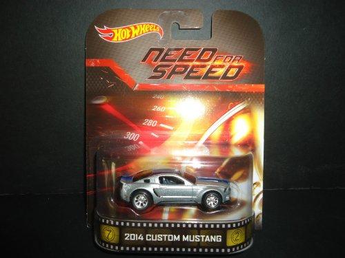 ホットウィール マテル ミニカー ホットウイール 2014 Custom Mustang