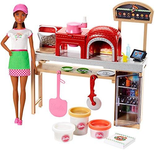本物の バービー バービー人形 日本未発売 日本未発売 プレイセット アクセサリ FTK33 Barbie Barbie バービー人形 Pizza Chef Doll and Playset, Brunetteバービー バービー人形 日本未発売 プレイセット アクセサリ FTK33, 不破郡:884a08f8 --- konecti.dominiotemporario.com