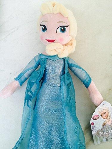 アナと雪の女王 アナ雪 ディズニープリンセス フローズン PRINCESS ELSA: Disney Frozen Soft Stuffed Plush Lovely Elsa Toy Doll 16