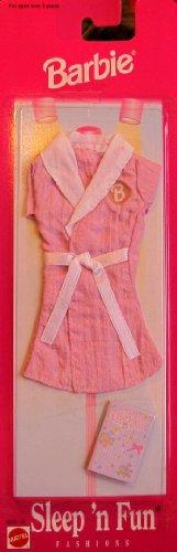 バービー バービー人形 着せ替え 衣装 ドレス 68021-96 Barbie Sleep 'n Fun Fashions w House Coat & Diary (1997 Arcotoys, Mattel)バービー バービー人形 着せ替え 衣装 ドレス 68021-96
