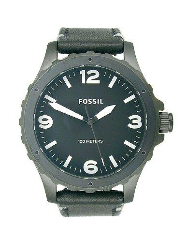 フォッシル 腕時計 メンズ JR1448 Fossil Men's JR1448 Nate Analog Display Analog Quartz Black Watchフォッシル 腕時計 メンズ JR1448