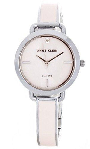 アンクライン 腕時計 レディース Anne Klein Pink Dial Pink Enamel & Metal Bracelet Womens Watch AK/2423PKSVアンクライン 腕時計 レディース