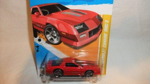 ホットウィール マテル ミニカー ホットウイール 【送料無料】Hot Wheels 2012-022 New Models 1985 Chevrolet Camaro IROC-Z RED 1:64 Scaleホットウィール マテル ミニカー ホットウイール