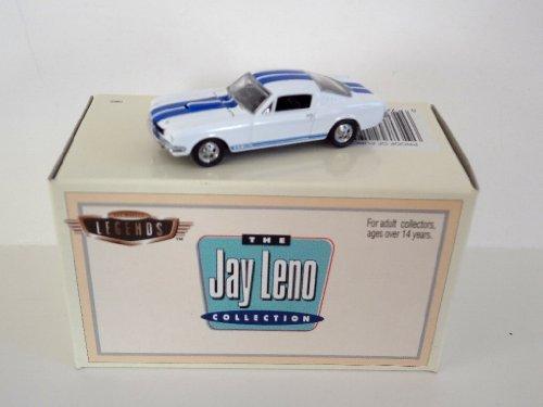 ホットウィール マテル ミニカー ホットウイール 【送料無料】Hot Wheels - Legends - The Jay Leno Collection - Shelby GT350 Mustang Car Replica - White Body Color w/Dual Blue Stripingホットウィール マテル ミニカー ホットウイール