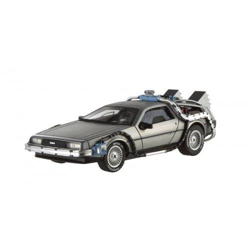 ホットウィール マテル ミニカー ホットウイール X5493 【送料無料】Hot wheels X5493 Delorean DMC-12 Back To The Future Time Machine Cult Classics 1/43 Diecast Model Car by Hotwheelsホットウィール マテル ミニカー ホットウイール X5493