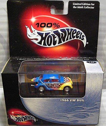 ホットウィール マテル ミニカー ホットウイール 54515 【送料無料】Hot Wheels 1966 VW Bug 100% Collectable Edition 1:64 Scale Die Cast Carホットウィール マテル ミニカー ホットウイール 54515