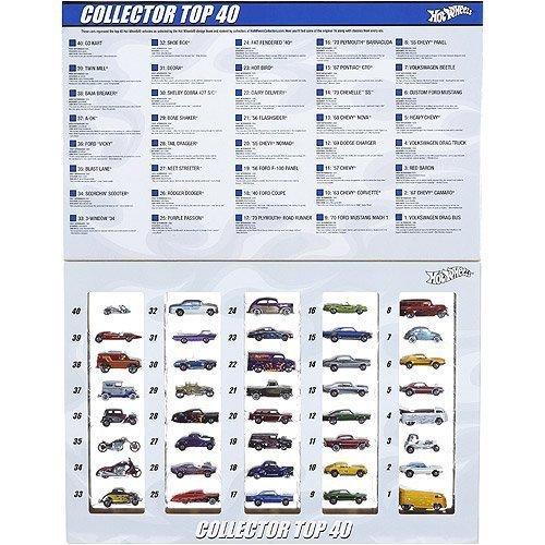 ホットウィール マテル ミニカー ホットウイール 【送料無料】2008 HOT WHEELS TOP 40 SINCE 68 SET 40 carsホットウィール マテル ミニカー ホットウイール