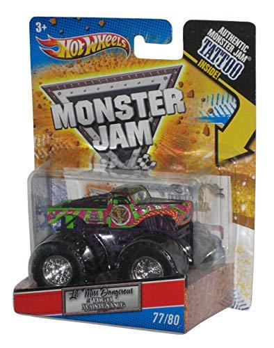 ホットウィール マテル ミニカー ホットウイール 【送料無料】Monster Jam 1:64 scale Lil' Miss Dangerous is High Maintenance 77/80 small truckホットウィール マテル ミニカー ホットウイール