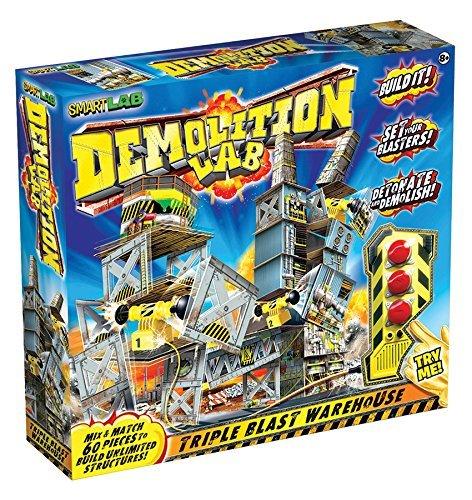 知育玩具 パズル ブロック 科学 実験 【送料無料】SmartLab Toys Demolition Lab Triple Blast Warehouse by SmartLab Toys知育玩具 パズル ブロック 科学 実験