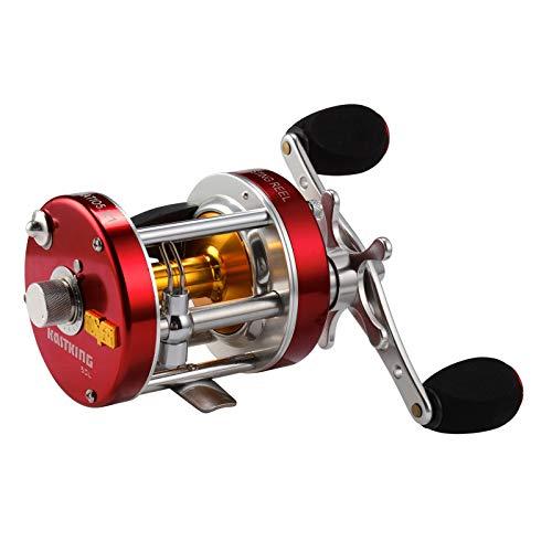 キャストキング Fishing フィッシング 海外限定多数 Rover キャストキング Baitcasting 海外限定多数 Left Reel, 釣り道具 Reel,Rover40リール Round リール フィッシング 【送料無料】KastKing Handed 釣り道具