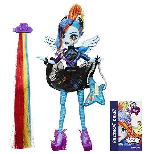 マイリトルポニー ハズブロ hasbro、おしゃれなポニー かわいいポニー ゆめかわいい B1038AS0 My Little Pony Equestria Girls Rainbow Rocks Rainbow Dash Rockin' Hairstylマイリトルポニー ハズブロ hasbro、おしゃれなポニー かわいいポニー ゆめかわいい B1038AS0