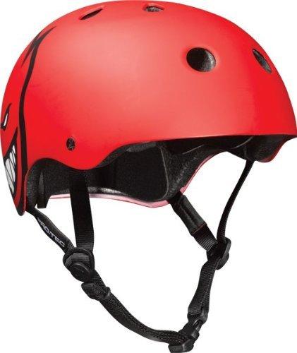 ヘルメット スケボー スケートボード 海外モデル 直輸入 Pro-Tec Classic Spitfire L-Red Matte Skateboard Helmetヘルメット スケボー スケートボード 海外モデル 直輸入