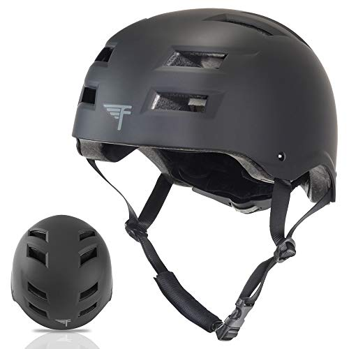 ヘルメット スケボー スケートボード 海外モデル 直輸入 Flybar Protective Multi-Sport Adjustable Helmet,Black,S/Mヘルメット スケボー スケートボード 海外モデル 直輸入