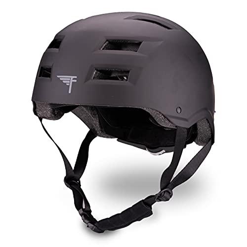 ヘルメット スケボー スケートボード 海外モデル 直輸入 【送料無料】Flybar Dual Certified CPSC Multi Sport Kids & Adult Bike And Skateboard Adjustable Dial Helmet,Black,M-Lヘルメット スケボー スケートボード 海外モデル 直輸入