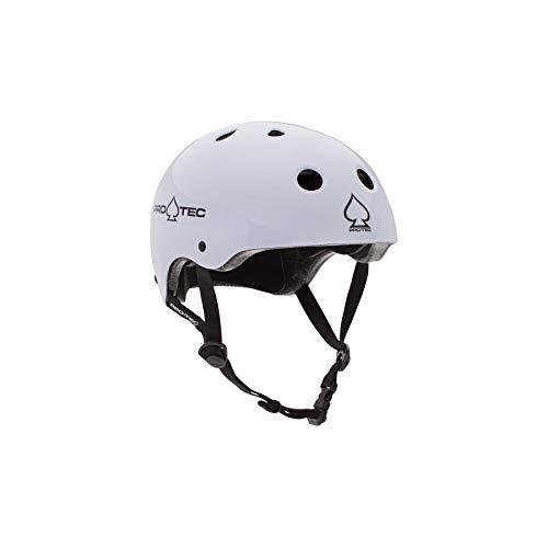 ヘルメット スケボー スケートボード 海外モデル 直輸入 116430204 Pro-Tec Classic Cert, Gloss White, MDヘルメット スケボー スケートボード 海外モデル 直輸入 116430204