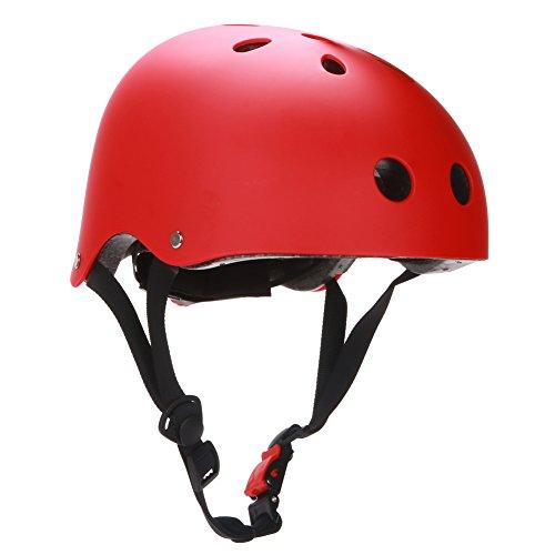 ヘルメット スケボー スケートボード 海外モデル 直輸入 Dtown Women Men Youth Kids Girls Boys Skateboarding Airsoft Helmet Red with Size Adjustableヘルメット スケボー スケートボード 海外モデル 直輸入