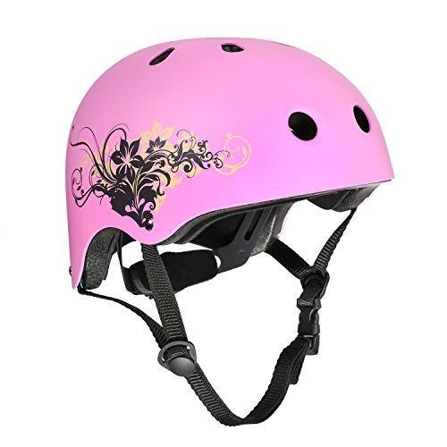 ヘルメット スケボー スケートボード 海外モデル 直輸入 VOKUL Skate Helmet CPSC ASTM Certified Impact Resistance Ventilation for Kid/Youth/Adult Skateboarding Inline Skating Cycling and Other Outdoor ヘルメット スケボー スケートボード 海外モデル 直輸入