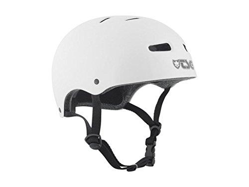 ヘルメット スケボー スケートボード 海外モデル 直輸入 TSG Skate/BMX Half Shell Skateboard Helmet   Injected Colors with Hardshell Construction and EPS Foam (White, S/M)ヘルメット スケボー スケートボード 海外モデル 直輸入
