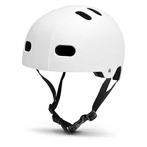 ヘルメット スケボー スケートボード 海外モデル 直輸入 80502002L/XL Destroyer (White, Large/X-Largeヘルメット スケボー スケートボード 海外モデル 直輸入 80502002L/XL