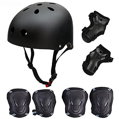 ヘルメット スケボー スケートボード 海外モデル 直輸入 Skateboard / Skate Protection Set with Helmet--SymbolLife Helmet with 6pcs Elbow Knee Wrist Pads for Kids BMX/ Skateboard / Scooter, For Head Siヘルメット スケボー スケートボード 海外モデル 直輸入
