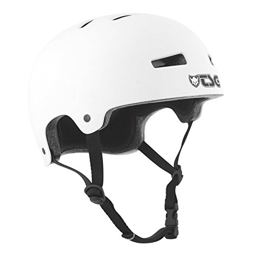 ヘルメット スケボー スケートボード 海外モデル 直輸入 【送料無料】TSG Evolution CPSC Certified Skateboard Helmet (White, Youth XS)ヘルメット スケボー スケートボード 海外モデル 直輸入