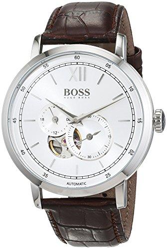 ヒューゴボス 高級腕時計 メンズ 1513505 【送料無料】Boss SIGNATURE TIMEPIECE COLLECTION 1513505 Automatic Mens Watch Classic & Simpleヒューゴボス 高級腕時計 メンズ 1513505