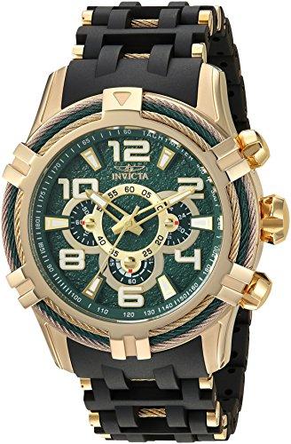 インヴィクタ インビクタ ボルト 腕時計 メンズ 25557 【送料無料】Invicta Men's Bolt Quartz Watch with Stainless-Steel Strap, Black, 25.75 (Model: 25557)インヴィクタ インビクタ ボルト 腕時計 メンズ 25557