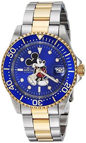 インヴィクタ インビクタ 腕時計 メンズ ディズニー 25105 Invicta Men's Disney Limited Edition Automatic-self-Wind Watch with Stainless-Steel Strap, Two Tone, 9 (Model: 25105)インヴィクタ インビクタ 腕時計 メンズ ディズニー 25105