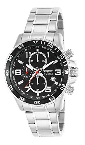 インヴィクタ インビクタ 腕時計 メンズ 14875 【送料無料】Invicta Men's 14875 Specialty Chronograph Black Textured Dial Stainless Steel Watchインヴィクタ インビクタ 腕時計 メンズ 14875