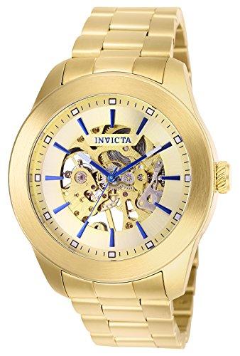 インヴィクタ インビクタ 腕時計 メンズ 25759 【送料無料】Invicta Men's Vintage Automatic Aviator Watch with Stainless Steel Strap, Gold, 22 (Model: 25759)インヴィクタ インビクタ 腕時計 メンズ 25759