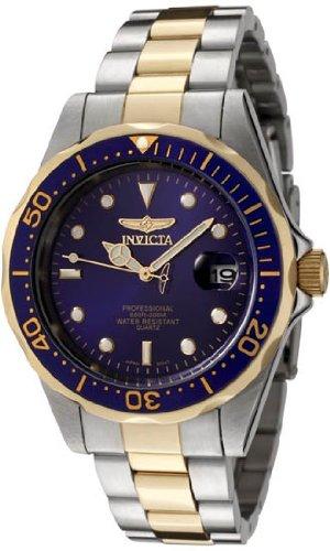 インヴィクタ インビクタ 腕時計 メンズ INVICTA-8935 INVICTA Pro Diver Men 37.5mm Stainless Steel Gold + Stainless Steel Blue dialインヴィクタ インビクタ 腕時計 メンズ INVICTA-8935