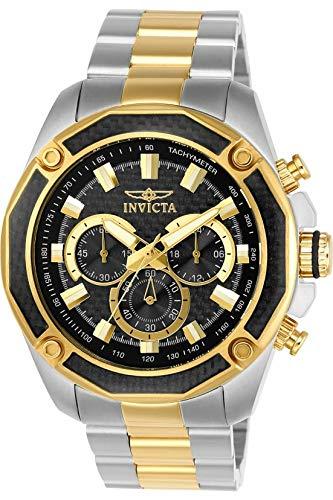 インヴィクタ インビクタ 腕時計 メンズ 22806 Invicta Men's Aviator Quartz Watch with Stainless-Steel Strap, Two Tone, 24 (Model: 22806)インヴィクタ インビクタ 腕時計 メンズ 22806