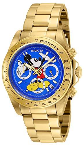 インヴィクタ インビクタ 腕時計 メンズ ディズニー 25195 Invicta Men's Disney Limited Edition Quartz Watch with Stainless-Steel Strap, Gold, 20 (Model: 25195)インヴィクタ インビクタ 腕時計 メンズ ディズニー 25195