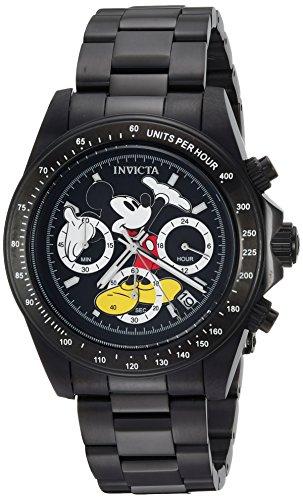インヴィクタ インビクタ 腕時計 メンズ ディズニー 25197 Invicta Men's Disney Limited Edition Quartz Watch with Stainless-Steel Strap, Black, 9 (Model: 25197)インヴィクタ インビクタ 腕時計 メンズ ディズニー 25197