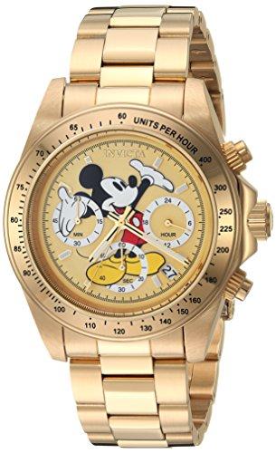 【超安い】 腕時計 インヴィクタ インビクタ Gold, メンズ ディズニー 25196 インヴィクタ【送料無料】Invicta 25196 Men's Disney Limited Edition Quartz Watch with Stainless-Steel Strap, Gold, 20 (Model: 25196)腕時計 インヴィクタ インビクタ メンズ ディズニー 25196, 株式会社171:61894a1c --- experiencesar.com.ar