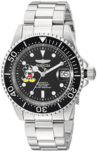 インヴィクタ インビクタ 腕時計 メンズ ディズニー 22777 Invicta Men's Disney Limited Edition Automatic-self-Wind Watch with Stainless Steel Strap, Silver, 9 (Model: 22777)インヴィクタ インビクタ 腕時計 メンズ ディズニー 22777