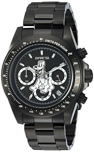 インヴィクタ インビクタ 腕時計 メンズ ディズニー 24399 Invicta Men's Disney Limited Edition Quartz Watch with Stainless-Steel Strap, Black, 9 (Model: 24399)インヴィクタ インビクタ 腕時計 メンズ ディズニー 24399