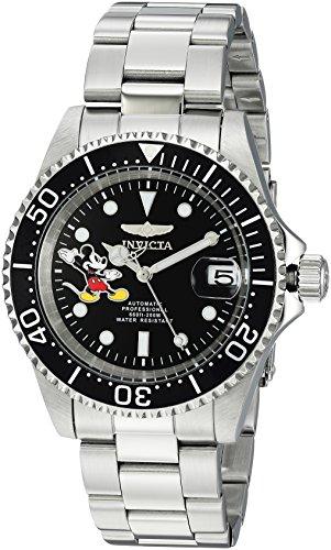 インヴィクタ インビクタ 腕時計 メンズ ディズニー 24753 【送料無料】Invicta Men's Automatic-self-Wind Watch with Stainless-Steel Strap, Silver, 20 (Model: 24753)インヴィクタ インビクタ 腕時計 メンズ ディズニー 24753