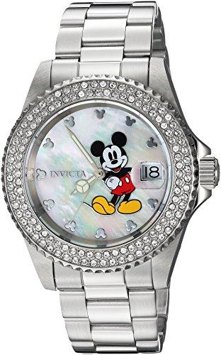 インヴィクタ インビクタ 腕時計 レディース ディズニー 24750 Invicta Women's Disney Limited Edition Quartz Watch with Stainless-Steel Strap, Silver, 9 (Model: 24750)インヴィクタ インビクタ 腕時計 レディース ディズニー 24750