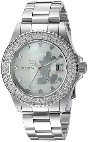 """インヴィクタ インビクタ 腕時計 レディース ディズニー 22727 【送料無料】Invicta Women""""s Disney Limited Edition Quartz Watch with Stainless-Steel Strap, Silver, 20 (Model: 22727)インヴィクタ インビクタ 腕時計 レディース ディズニー 22727"""