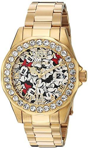 インヴィクタ インビクタ 腕時計 レディース ディズニー 24419 Invicta Women's Disney Limited Edition Quartz Watch with Stainless-Steel Strap, Gold, 18 (Model: 24419)インヴィクタ インビクタ 腕時計 レディース ディズニー 24419