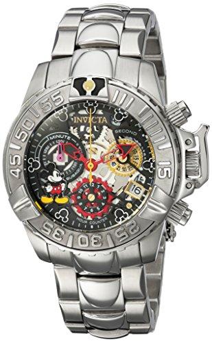 腕時計 インヴィクタ インビクタ レディース ディズニー 24506 【送料無料】Invicta Women's Disney Limited Edition Analog-Quartz Watch with Stainless-Steel Strap, Silver, 20 (Model: 24506)腕時計 インヴィクタ インビクタ レディース ディズニー 24506