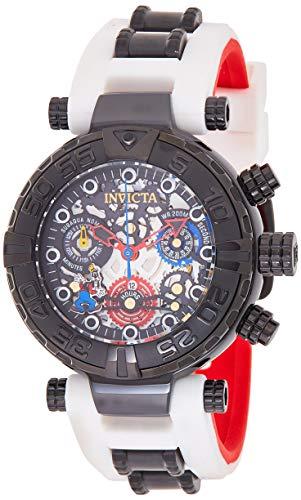 インヴィクタ インビクタ 腕時計 レディース ディズニー 24516 【送料無料】Invicta Women's Disney Limited Edition Stainless Steel Quartz Watch with Silicone Strap, White, 20 (Model: 24516)インヴィクタ インビクタ 腕時計 レディース ディズニー 24516