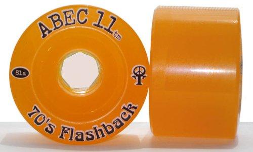 ウィール タイヤ スケボー スケートボード 海外モデル ABEC 11 Flashbacks 70mm 81A Wheelsウィール タイヤ スケボー スケートボード 海外モデル