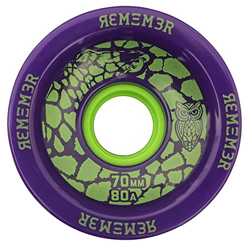 ウィール タイヤ スケボー スケートボード 海外モデル RWS7080 Remember Collective RWS7080 Savannah Slamma Freeride Wheel, Purpleウィール タイヤ スケボー スケートボード 海外モデル RWS7080