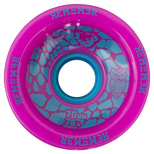 ウィール タイヤ スケボー スケートボード 海外モデル RWS7076 Remember Collective RWS7076 Savannah Slamma Freeride Wheel, Pinkウィール タイヤ スケボー スケートボード 海外モデル RWS7076