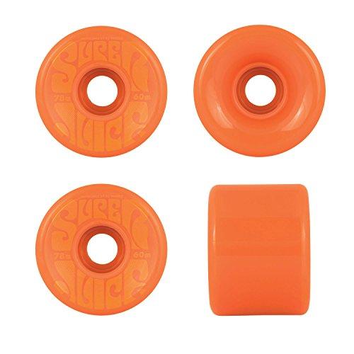 ウィール タイヤ スケボー スケートボード 海外モデル OJ Wheels Super Juice Black / Orange Longboard Skateboard Wheels - 60mm 78a (Set of 4)ウィール タイヤ スケボー スケートボード 海外モデル