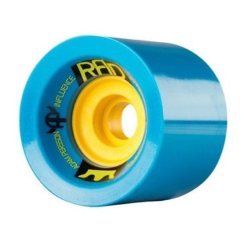 ウィール タイヤ スケボー スケートボード 海外モデル Rad Persson Influence 70mm 78a Blue/Yellow Longboard Wheels (Set of 4)ウィール タイヤ スケボー スケートボード 海外モデル