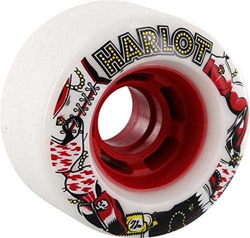 ウィール タイヤ スケボー スケートボード 海外モデル Venom Harlot Cobra Core White / Red Skateboard Wheels - 70mm 78a (Set of 4)ウィール タイヤ スケボー スケートボード 海外モデル